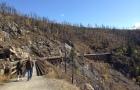 人気のケトルバレー鉄道跡のサイクリング