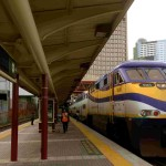 West Coast Expressに乗って大陸横断鉄道の雰囲気を短時間で楽しむ