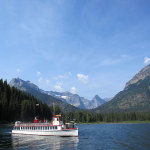 Waterton Lake(ウォータートンレイク)で一番の人気は遊覧船