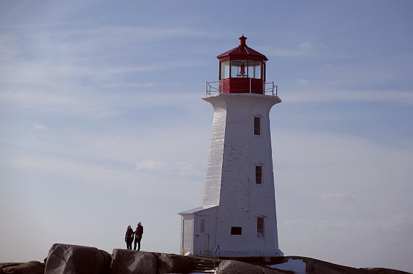 light house peggys cove