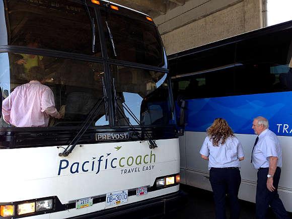 exchange pacific coach